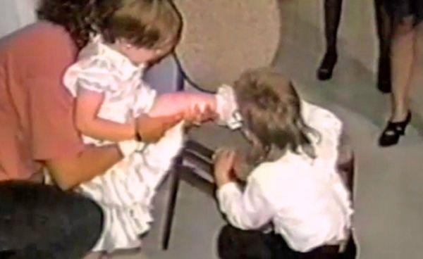 Kids crashing weddings