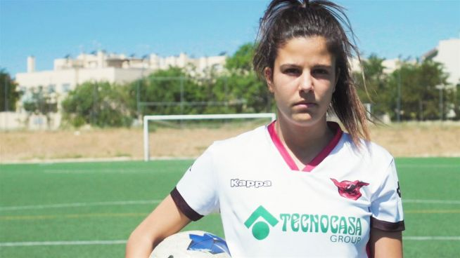 Female Footballers: Gema Prieto