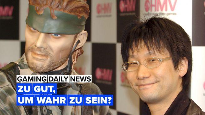 Metal Gear Solid Remake könnte echt sein
