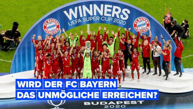 Wird der FC Bayern München Geschichte schreiben?
