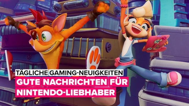 'Crash Bandicoot 4' kommt auf die Nintendo Switch!