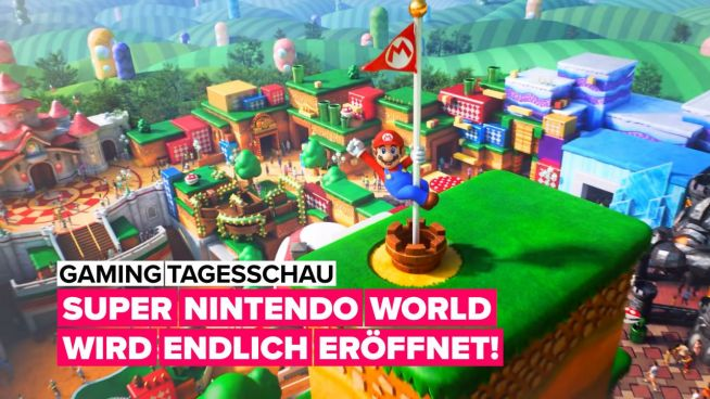 Super Nintendo World öffnet heute!
