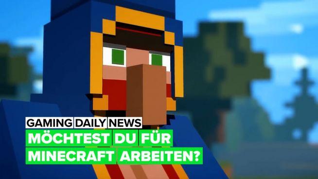 Du bist auf Arbeitssuche und spielst gerne Minecraft?