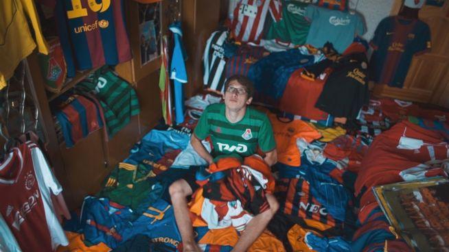 Fußballfan: Die große Trikot-Sammlung