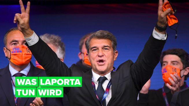 Laporta ist bereit für ein neues Barça