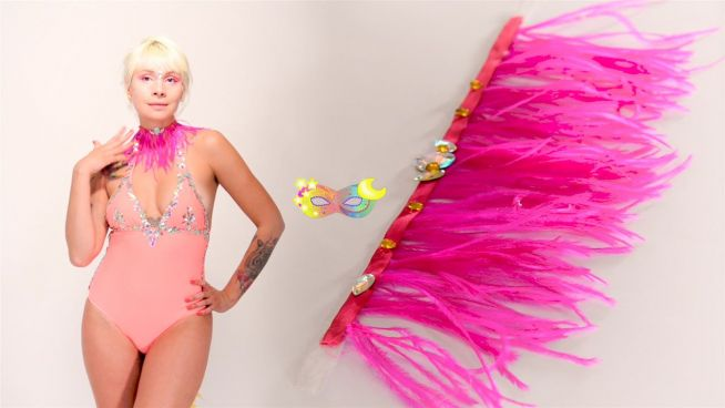 DIY: stylisches Halsband für Karneval