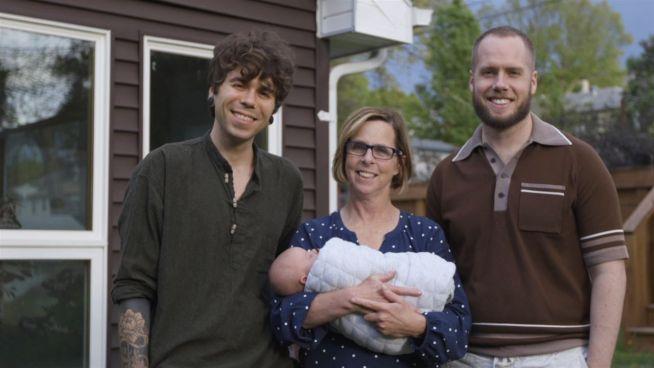 Eine besondere Familie: Oma brachte Enkelin zur Welt