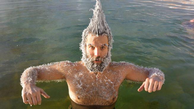 Lust auf gefrorene Haare?