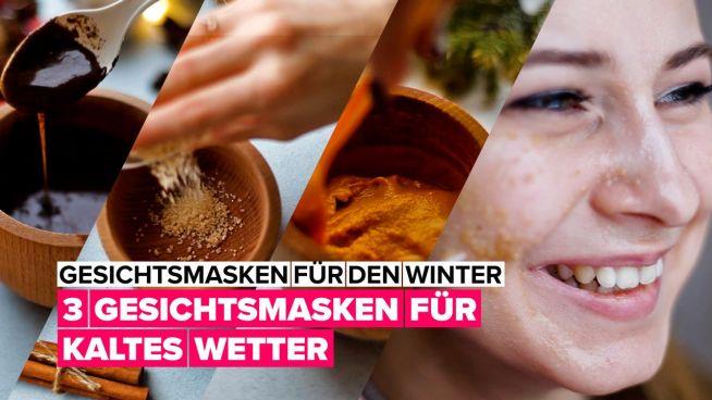 Drei Gesichtsmasken um deine Haut auf die kalte Jahreszeit vorzubereiten