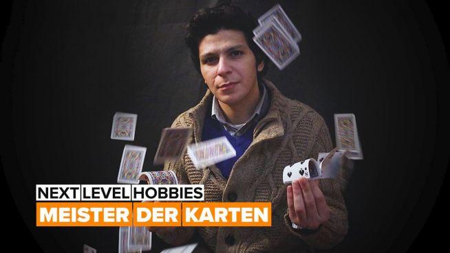 Next level hobbies: der Kartenstapler