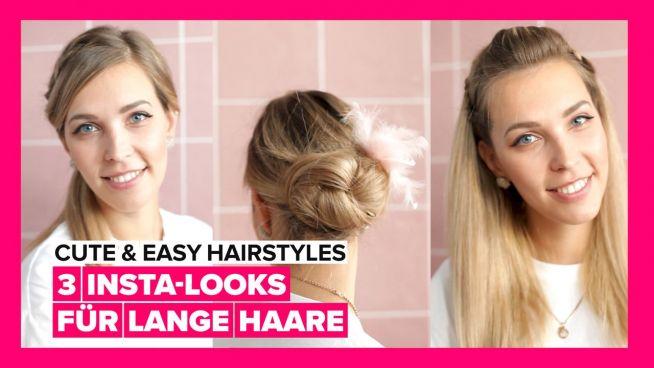 Die schönsten Insta-Looks für lange Haare