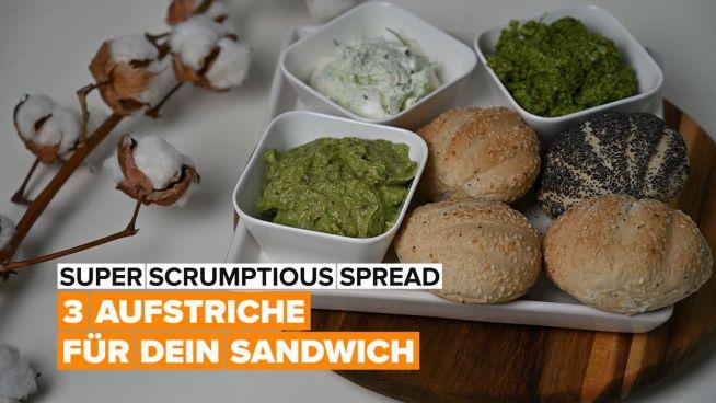 Mit diesen 3 Aufstrichen wird dein Sandwich ein Genuss
