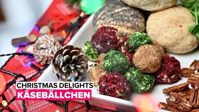 Christmas Delights: Käsebällchen