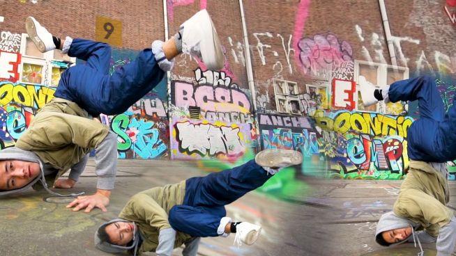 Breakdance zum Nachmachen: Freeze