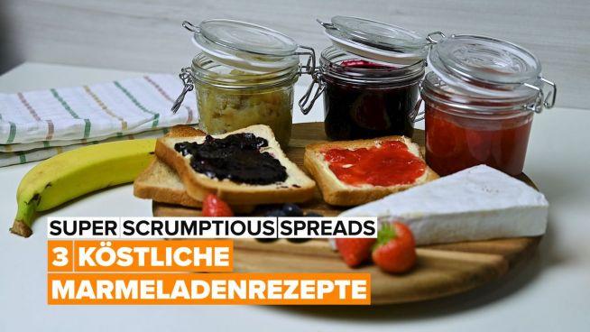 3 köstliche Marmeladenrezepte