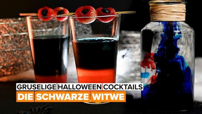Halloween-Cocktails: Schwarze Witwe