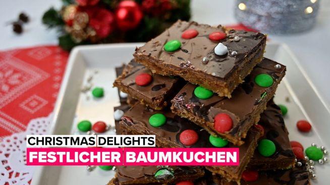 Christmas Delights: Festlicher Baumkuchen