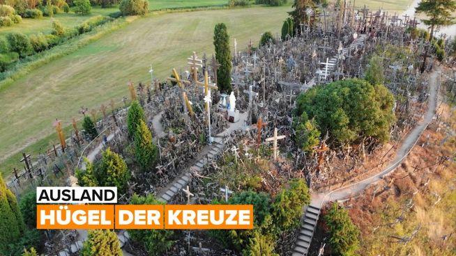 Ausland: Hügel der Kreuze