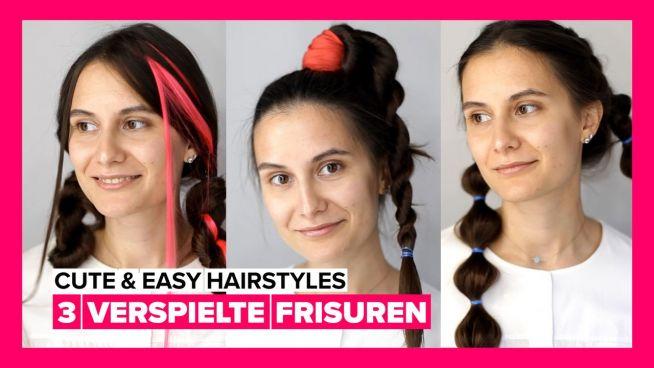 Tolle Frisuren zum Selbermachen