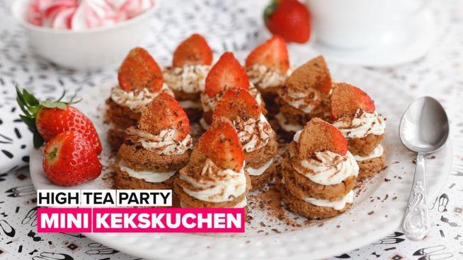 High tea party: Mini Kekskuchen