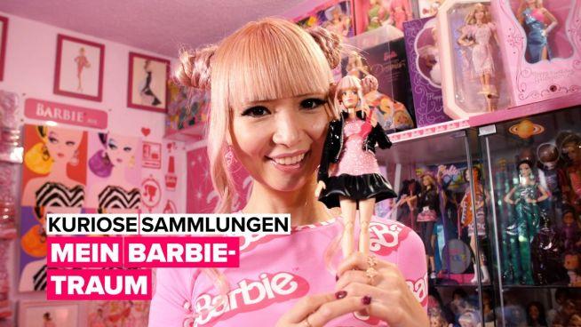 Eine Barbie-Sammlung im Wert von 80.000 Dollar!