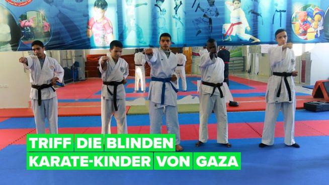 Mit Karate Hoffnung in Gaza finden