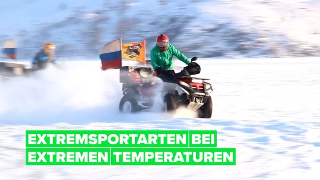 Extreme Wintersportarten in Sibirien