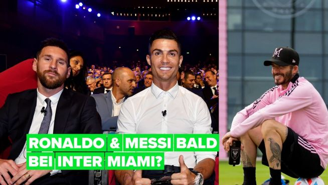 Ob David Beckham Ronaldo und Messi bei Inter Miami zusammenbringt?