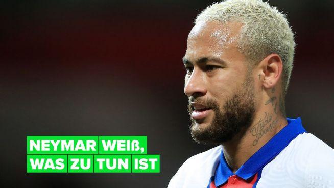 Neymar möchte in Paris bleiben