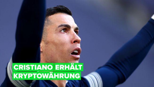 Cristiano Ronaldo wird als erster Fußballer in Kryptowährung bezahlt