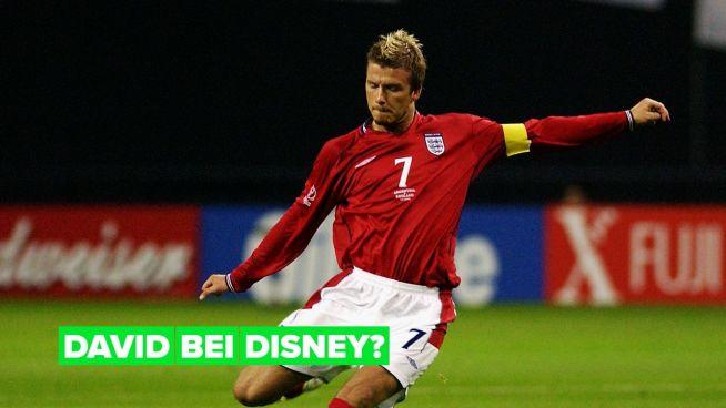 David Beckham steht mit Disney+ in Verhandlungen