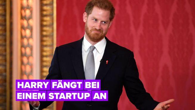 Was über Prinz Harrys erste Stelle bekannt ist