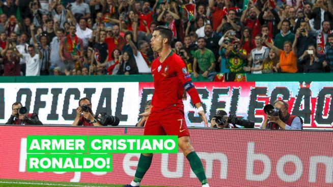 Wird Ronaldo eines der wichtigsten Spiele der Saison verpassen müssen?