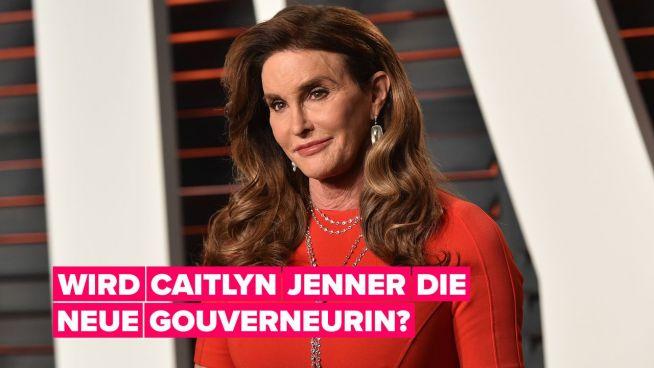 Caitlyn Jenner will Gouverneurin von Kalifornien werden