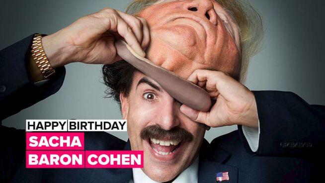 Happy Birthday, Sacha Baron Cohen