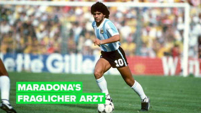Nach dem Tod von Diego Maradona beginnen die Leute mit dem Finger zu zeigen
