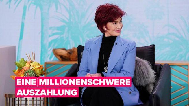 """Sharon Osbourne verdient Millionen mit ihrem Ausstieg bei """"The Talk"""""""