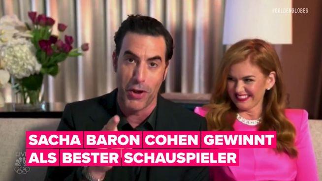 """Überrascht, dass """"Borat"""" ein großer Gewinner bei den Golden Globes war? Das muss nicht sein"""