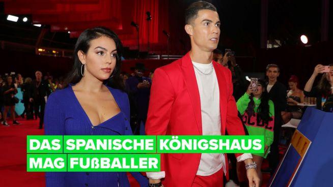 Warum Cristiano Ronaldo & Georgina Rodríguez eine Weihnachtskarte von der spanischen Königsfamilie erhielten