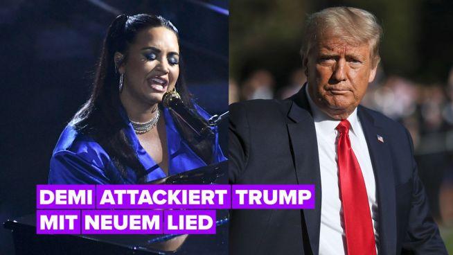 Demi Lovato ist es egal, ob ihr Anti-Trump Lied ihre Karriere ruiniert