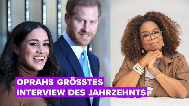 Harry & Meghan setzen sich für ein 90-minütiges Interview mit Oprah hin