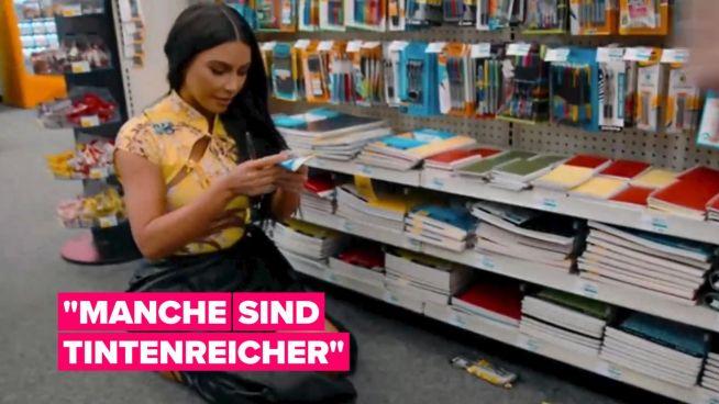 Kim Kardashian West sucht den 'perfekten Stift'