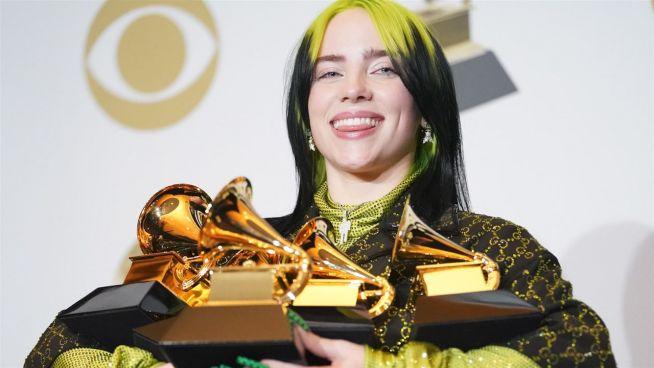 Billie Eilish räumt bei den Grammys 2020 ab