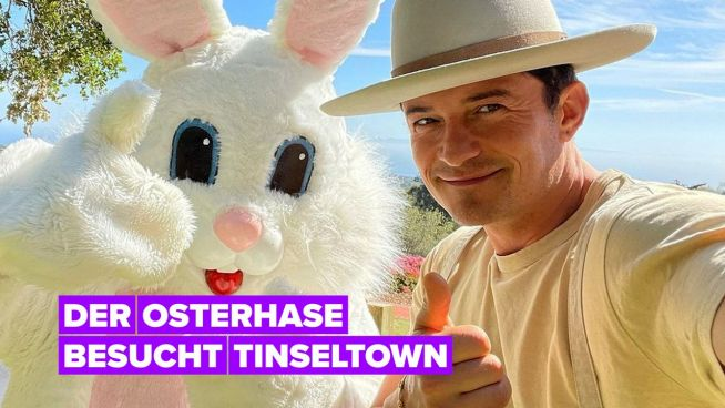 Hollywood-Familien feiern Ostern